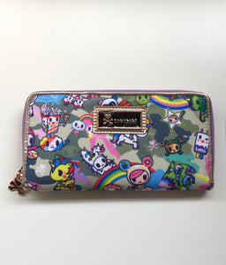 Tokidoki Camo Kawaii Long Wallet