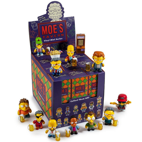 The Simpsons Moes Tavern Mini Figure Series by Kidrobot FULL CASE