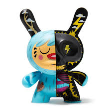 "Kidrobot Johnny Draco Dunny 5"" Mr. Watt Half Ray"