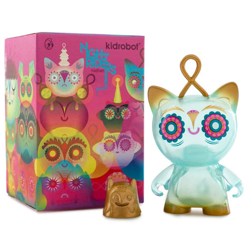 Night Riders 3-Inch Munnyworld Individual Blind Box by Nathan Jurevicius x Kidrobot