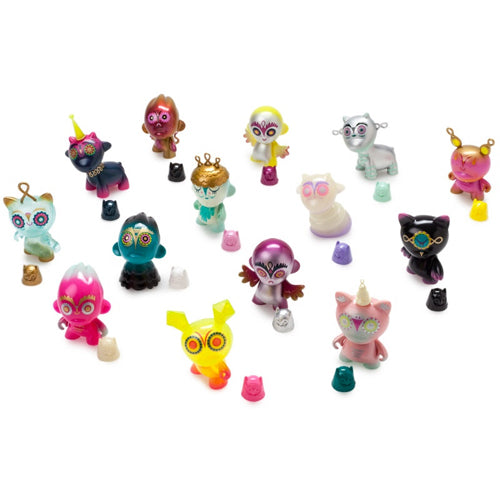 Night Riders 3-Inch Munnyworld FULL CASE of 20 Figures by Nathan Jurevicius x Kidrobot