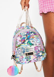 Tokidoki Camo Kawaii Small Backpack