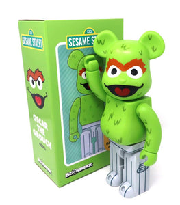 Oscar the Grouch 400% Bearbrick