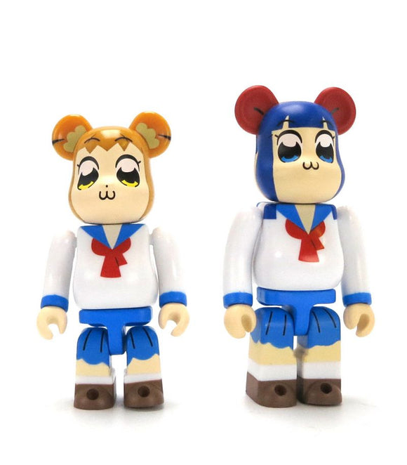 Pop Team Epic 100% Bearbrick Combo Set