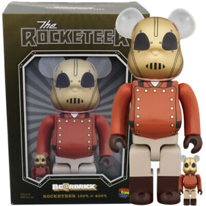 The Rocketeer 400% & 100% Bearbrick Set