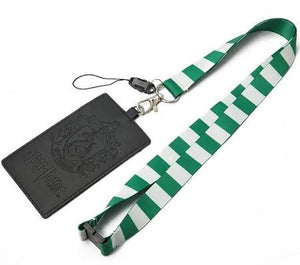 Harry Potter: Slytherin School Crest Lanyard with Card Holder