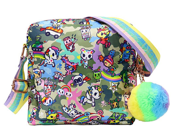 Tokidoki Camo Kawaii Small Crossbody