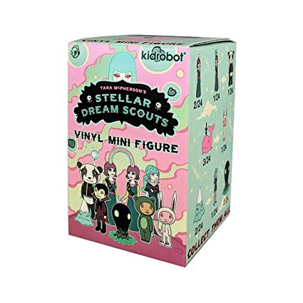 Stellar Dream Scouts Mini Art Figure Series by Tara McPherson Blind Box