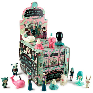 Stellar Dream Scouts Mini Art Figure Series by Tara McPherson FULL CASE