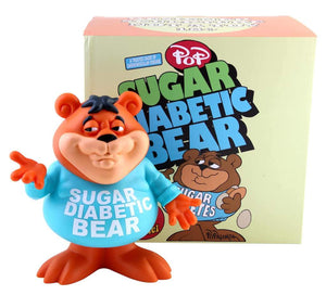 "Ron English 8"" Sugar Diabetic Bear Cereal Killer"