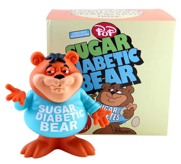 Ron English 8' Sugar Diabetic Bear Cereal Killer