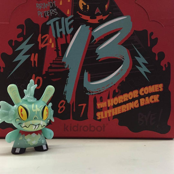 The 13 Dunny Series (Glow in the Dark Edition) Case of 20 Figures by Brandt Peters x Kidrobot