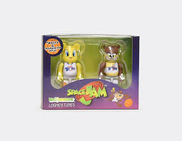 Tweety Bird and Tazmanian Devil 100% Bearbrick Combo Set