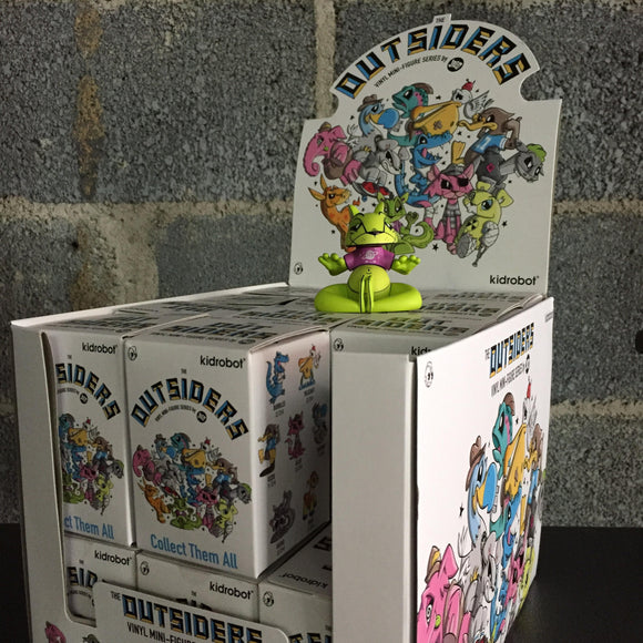 The Outsiders Case of 24 Figures from Joe Ledbetter x Kidrobot