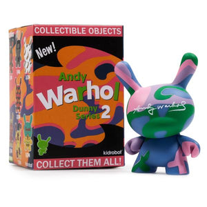 Andy Warhol Dunny Series 2 Blind Box by Kidrobot