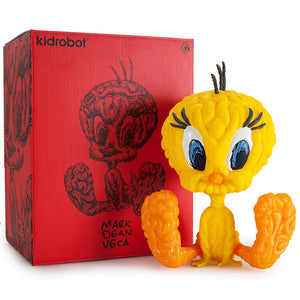Tweety 8-Inch Vinyl Figure by Mark Dean Veca x Kidrobot