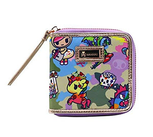 Tokidoki Camo Kawaii Small Zip Around