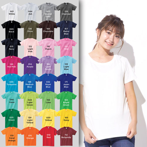 00085 Women Cotton Short-Sleeves T-shirt