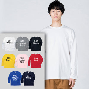 00101 Adults Long-Sleeves Cotton T-shirt