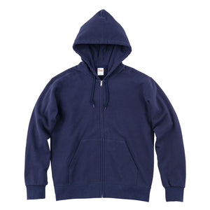 00189 Adults Cotton Kangaroo Full-zip Hoodie