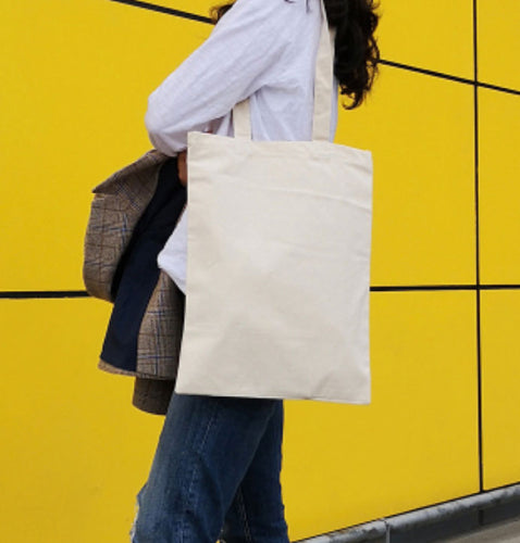 TR12 Rectangular Thick Canvas Tote Bag