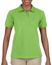 Load image into Gallery viewer, 73800L Women Cotton Blend Piqué Short-Sleeves Polo Shirt