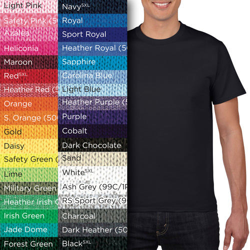 76000 Adults Short-Sleeves Cotton T-shirt