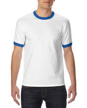 Load image into Gallery viewer, 76600 Adults Short-Sleeves Ringer T-shirt