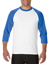 Load image into Gallery viewer, 76700 Adults 3/4 Sleeves Raglan T-shirt