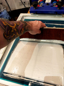 Screen Printing Special Inks - Metal