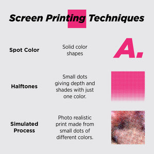 Simulated Process Screen Printing - Print Fee