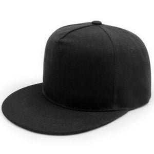 Flat Bill Snapback 5 Panels Hats