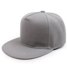 Load image into Gallery viewer, Flat Bill Snapback 5 Panels Hats