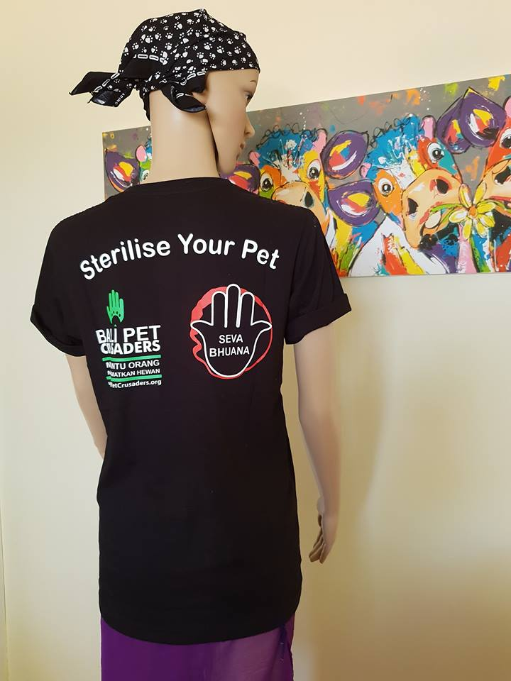 Bali Pet Crusaders T-Shirt - I'm only talking to my cat today