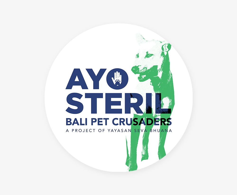 Large Ayo Steril Sticker