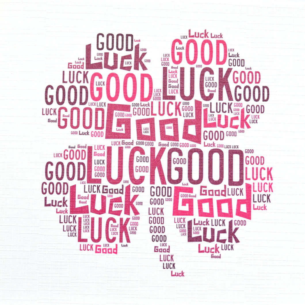 GOOD LUCK CLOVER  (order code 273)