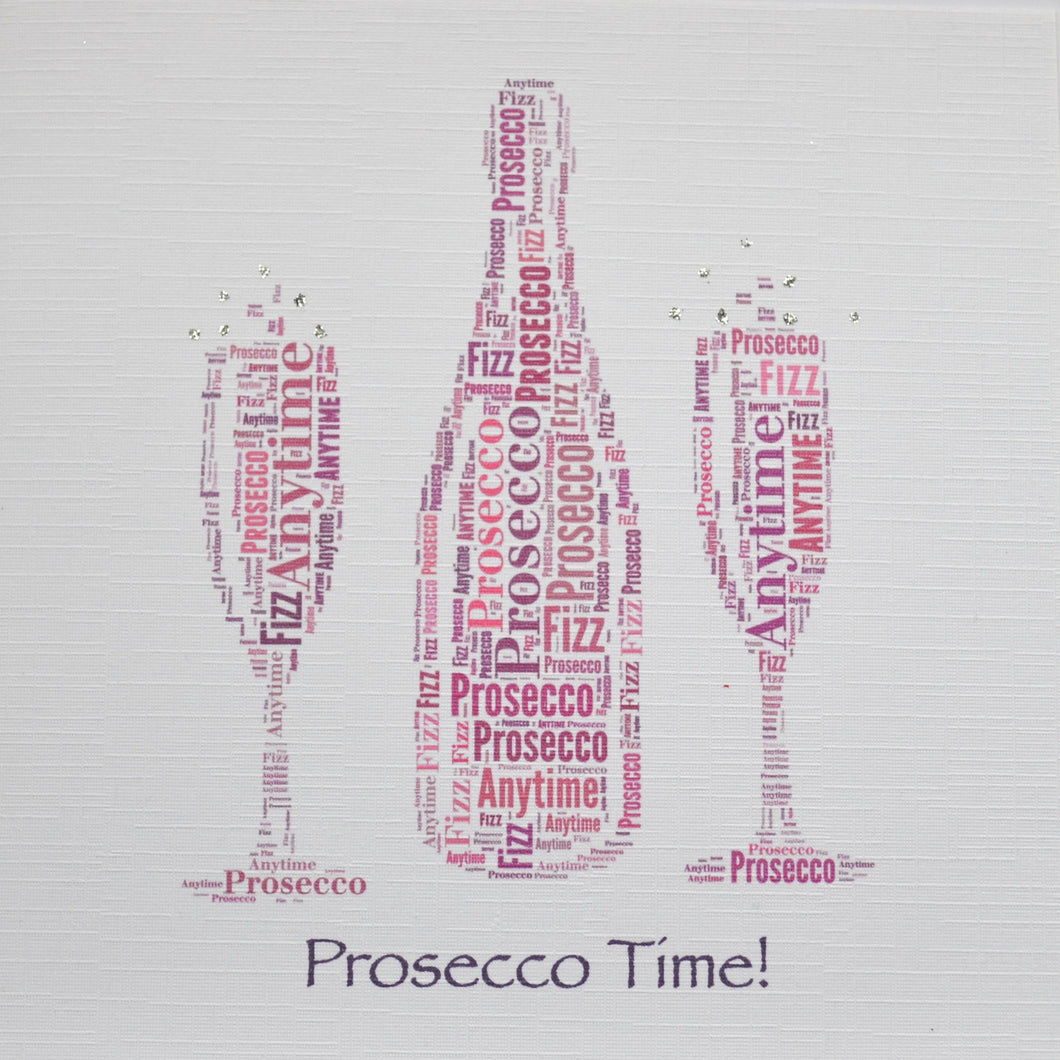 PROSECCO TIME with sparkle - order 252