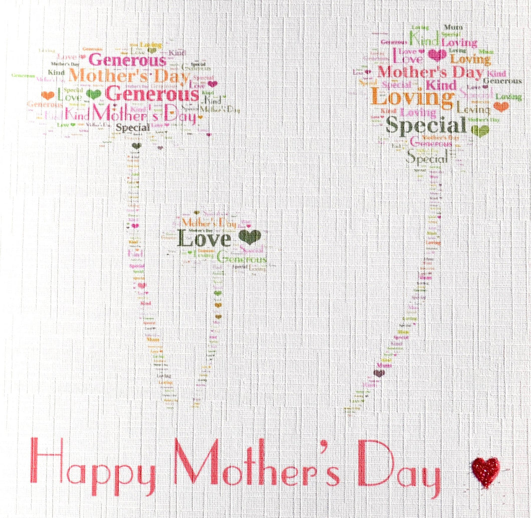 Mother's Day with seed heads - order code 435