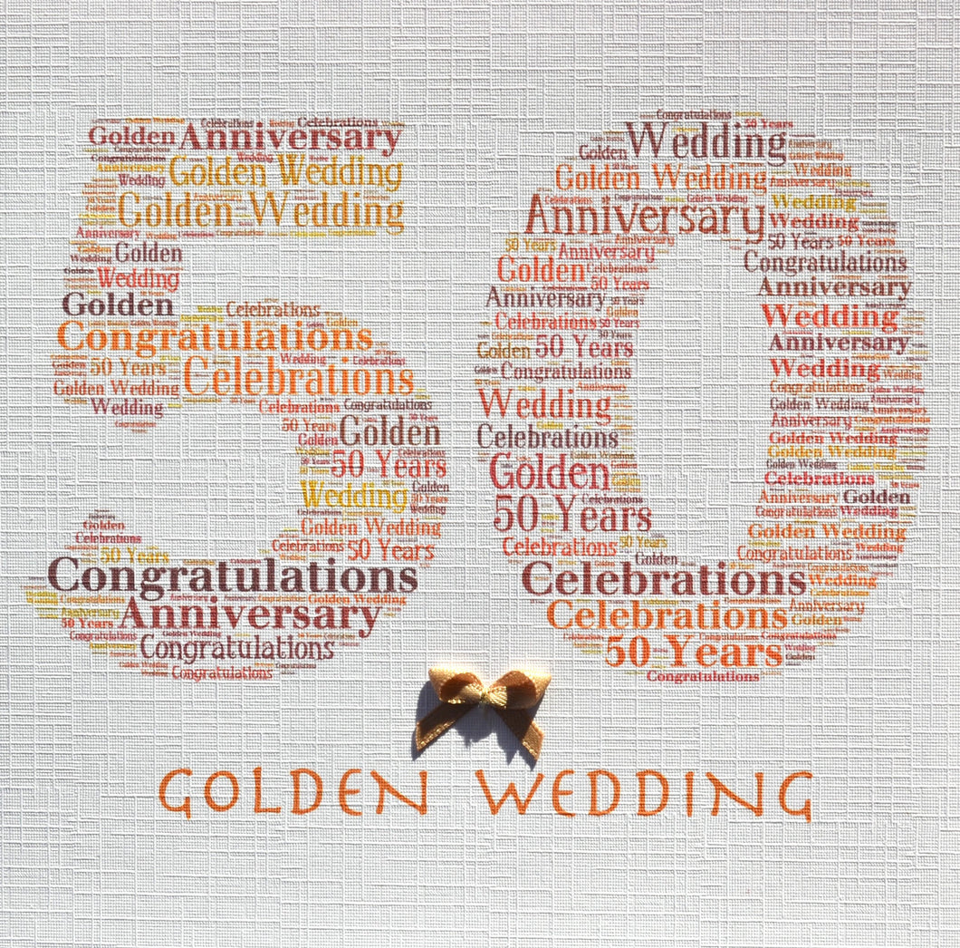 GOLDEN WEDDING   order code 331