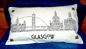 GLASGOW SKYLINE CUSHION