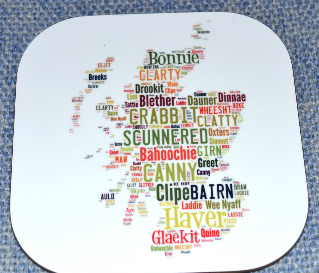 Map of Scottish words(order code C027)