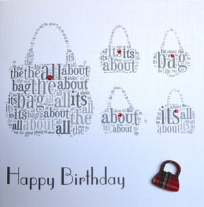 Happy Birthday - order code 433  ITS  ALL ABOUT THE BAG!