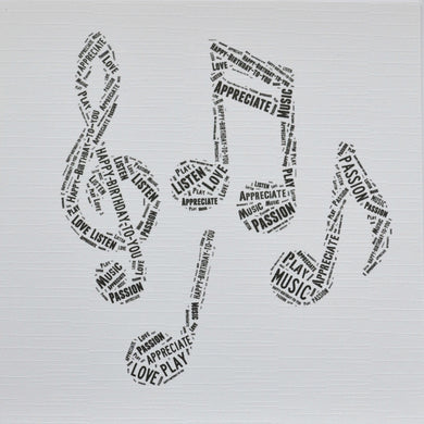 MUSIC NOTES  -  order code 290