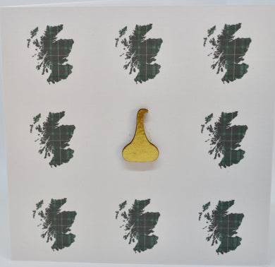 Scottish maps with whisky still(order code 612)