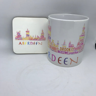 MUG AND COASTER SET