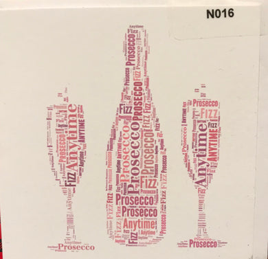 NOTELETS  Prosecco  order code N016