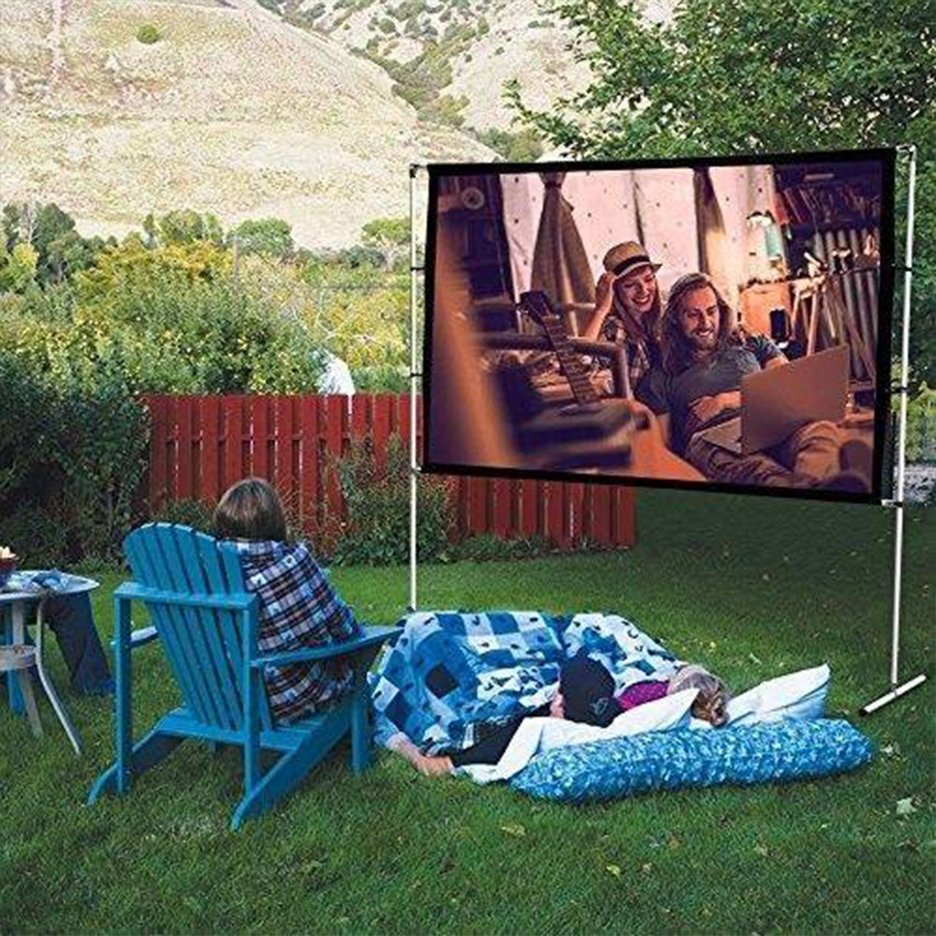 120 inch 16:9 Portable Foldable  Projection HD Screen
