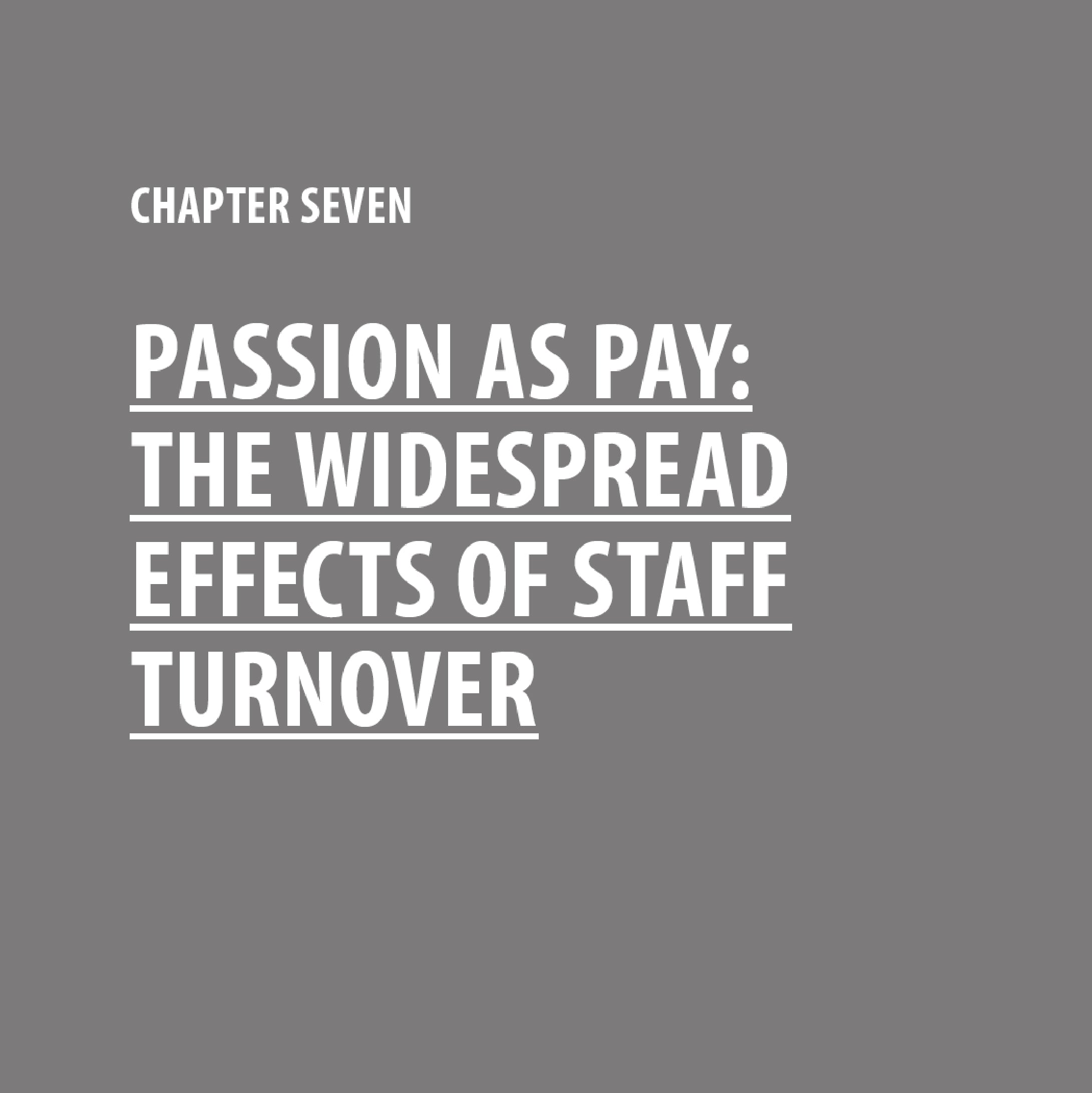 Passion as Pay