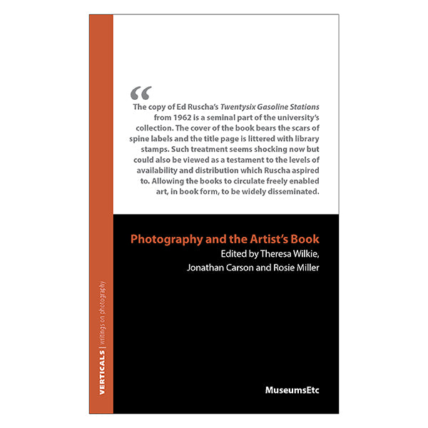 Photography and the Artist's Book
