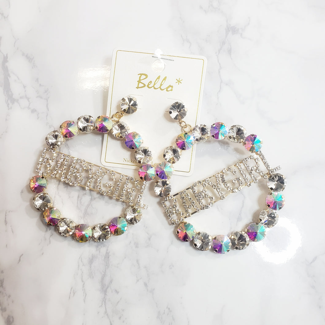 Krystal~Rhinestone Earrings